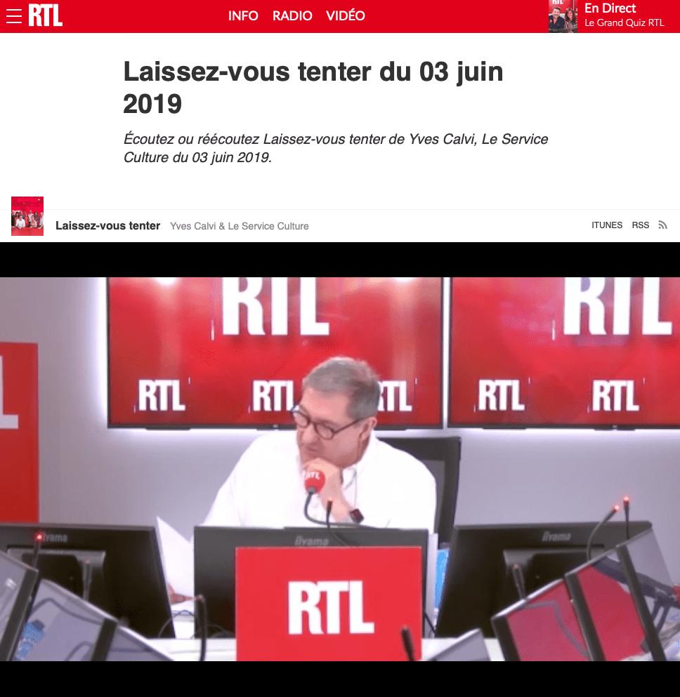 émission laissez-vous tenter sur RTL