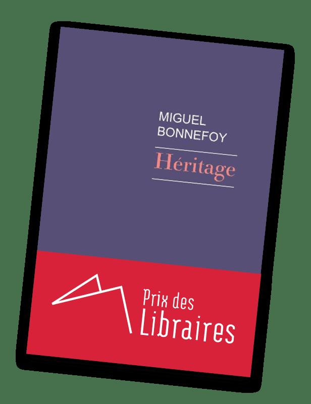Couverture de Héritage, de Miguel Bonnefoy